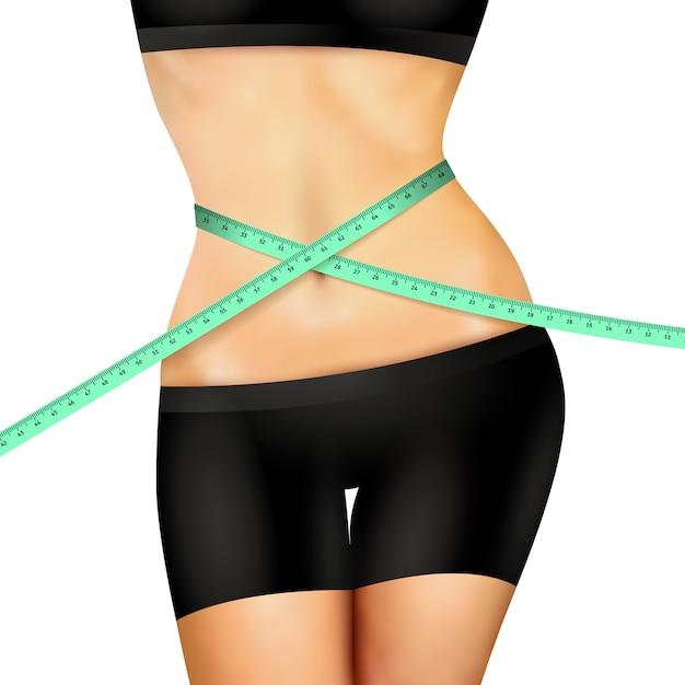 Slim Fitness Woman Darmowych Wektorów