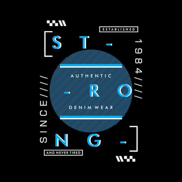 Słowa Typografia Projekt Graficzny Premium Wektorów