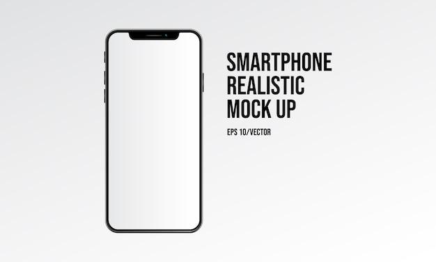 Smartphone realistyczne makiety Premium Wektorów