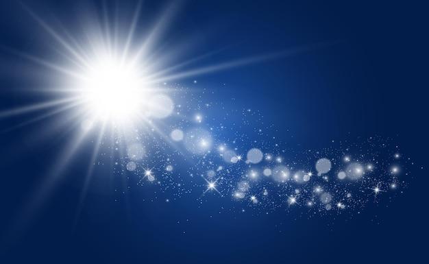 Specjalna Lampa Błyskowa, Efekt świetlny. Premium Wektorów