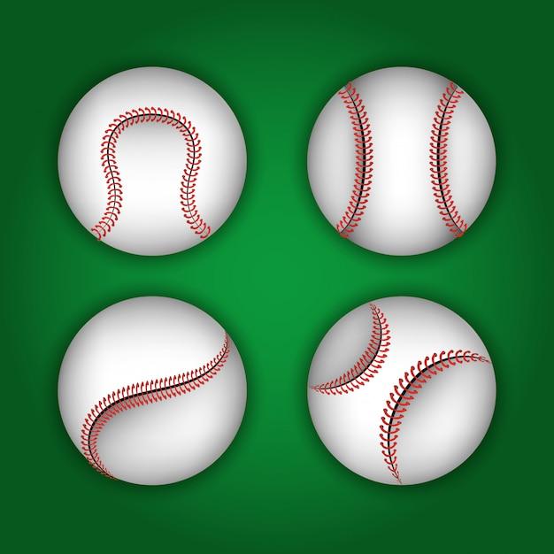 Sport Baseballowy Darmowych Wektorów