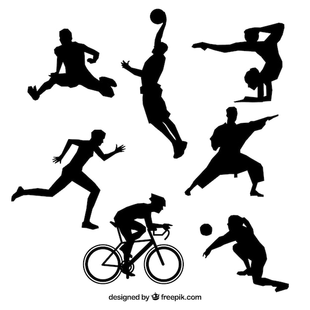 Sporty Olimpijskie Wektor Darmowych Wektorów