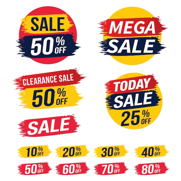 Sprzedam Szablon Transparent, Ilustracji Wektorowych. Premium Wektorów