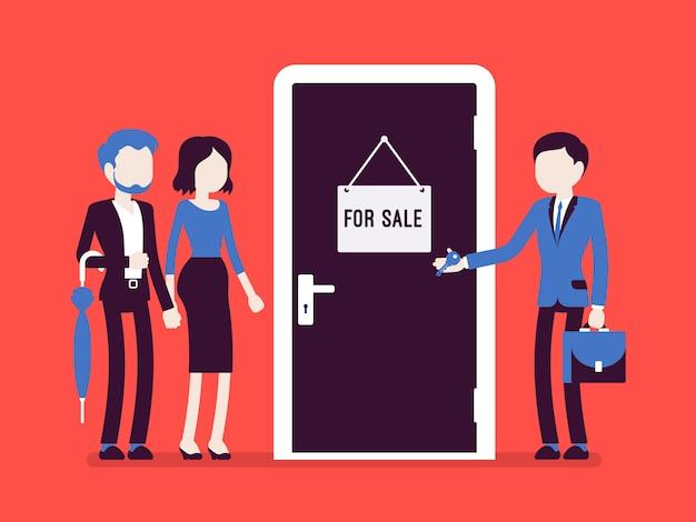 Sprzedaż nowych mieszkań Premium Wektorów