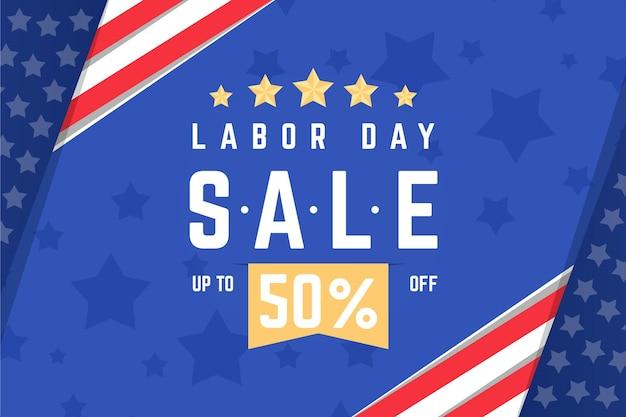 Sprzedaż Poziomy Baner Dzień Pracy Darmowych Wektorów