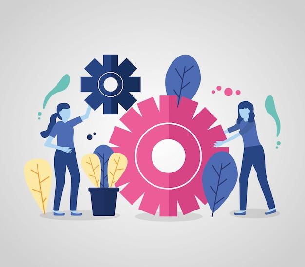 Sprzęt Kobiet Biznesu Darmowych Wektorów