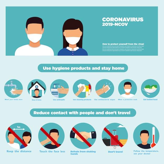 Środki Dezynfekujące Do Rąk. Produkty Higieniczne Koronawirusa Zatrzymują Wirusy Koronawirusa. Produkt Higieniczny. Premium Wektorów