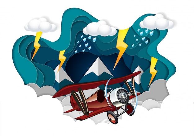 Start Promu Kosmicznego Na Niebo, Uruchomienie Koncepcji Finansów Biznesowych, Grafiki Wektorowej I Papieru Ilustracyjnego Premium Wektorów