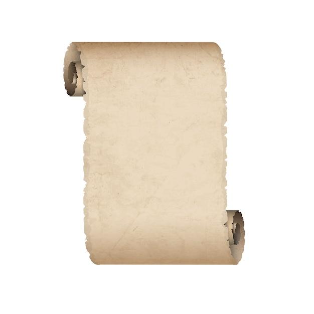 Stary zwój papieru Premium Wektorów