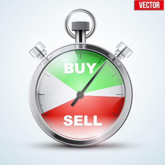 Stoper Dla Tradera Forex Premium Wektorów