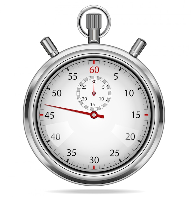 Stoper - pomiar czasu Premium Wektorów