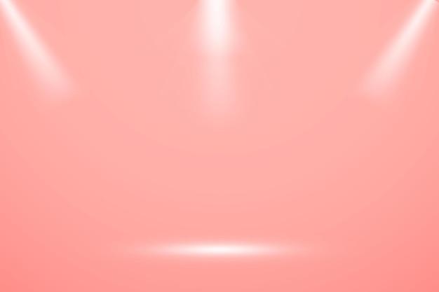Streszczenie Gradientu Różowy, Używany Jako Tło Do Wyświetlania Produktów Premium Wektorów