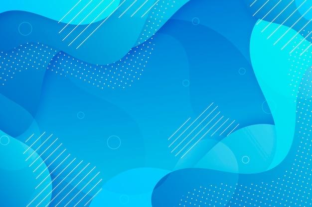 Streszczenie Klasyczne Niebieskie Tło Darmowych Wektorów