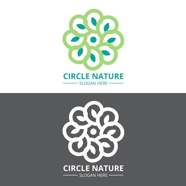 Streszczenie Logo W Dwóch Wersjach Koncepcji Darmowych Wektorów