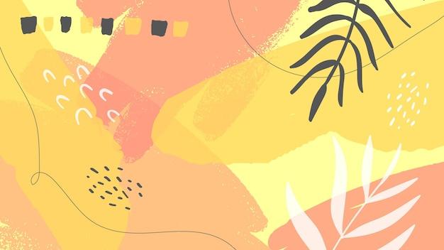 Streszczenie Malowane Tapety Darmowych Wektorów