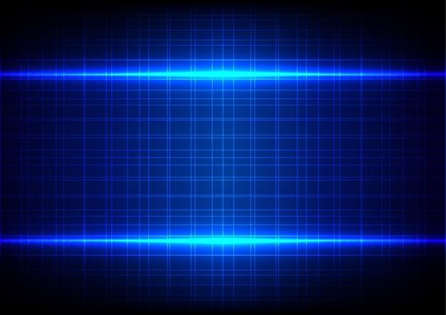 Streszczenie Niebieskim Tle światła Wzór Tabeli Premium Wektorów