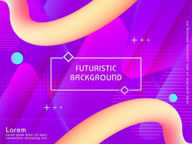 Streszczenie nowoczesne futurystyczne tło Darmowych Wektorów