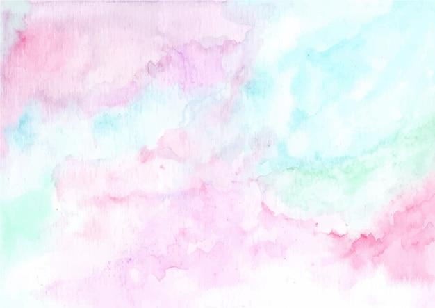 Streszczenie pastelowe akwarela tekstury tło Premium Wektorów