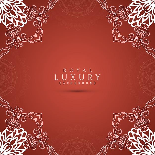 Streszczenie stylowe luksusowe tło Darmowych Wektorów