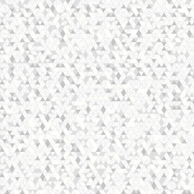 Streszczenie szary trójkąt technika dekoracji tła. Premium Wektorów