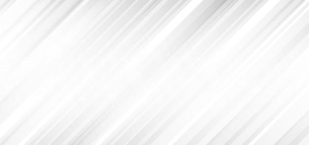 Streszczenie Tło Białe I Szare Ukośne Paski Premium Wektorów