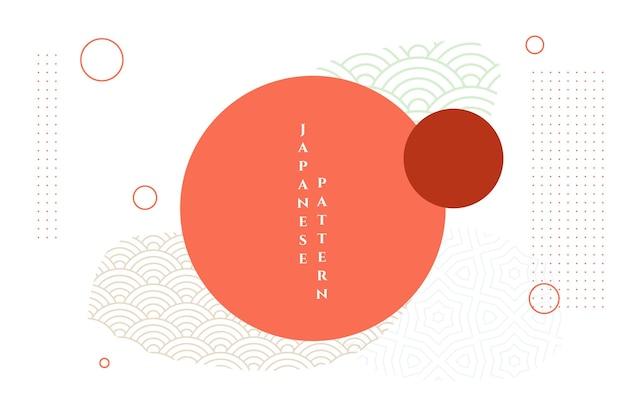 Streszczenie Tło Dekoracyjne Japoński Azji Darmowych Wektorów