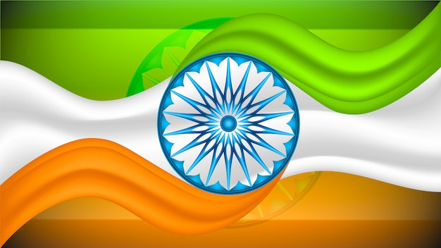 Streszczenie Tło Dzień Niepodległości. Ilustracji Wektorowych Premium Wektorów