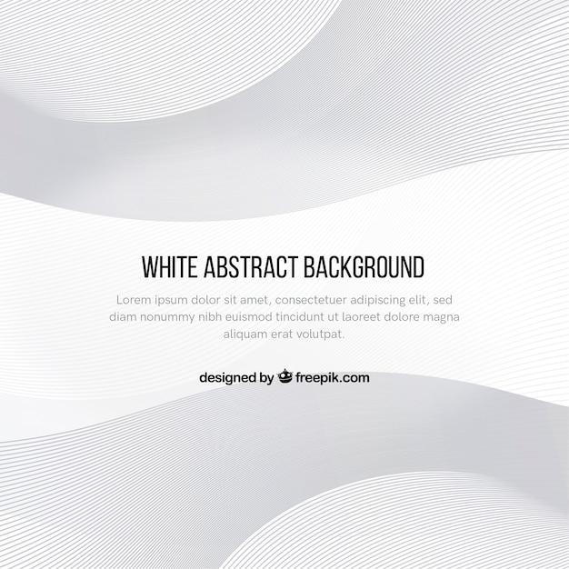 Streszczenie tło w kolorze białym Darmowych Wektorów