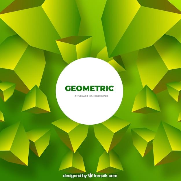 Streszczenie Tło Z Geometrycznych Kształtów Darmowych Wektorów