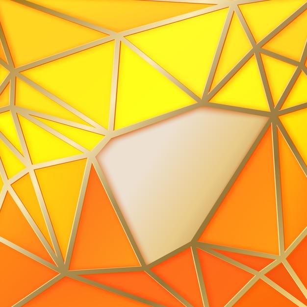 Streszczenie Tło Z Geometrycznymi Trójkątami Darmowych Wektorów