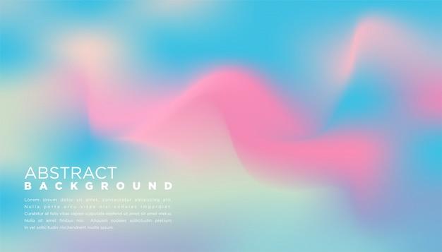 Streszczenie tło z gradientem w kolorze niebieskim Premium Wektorów