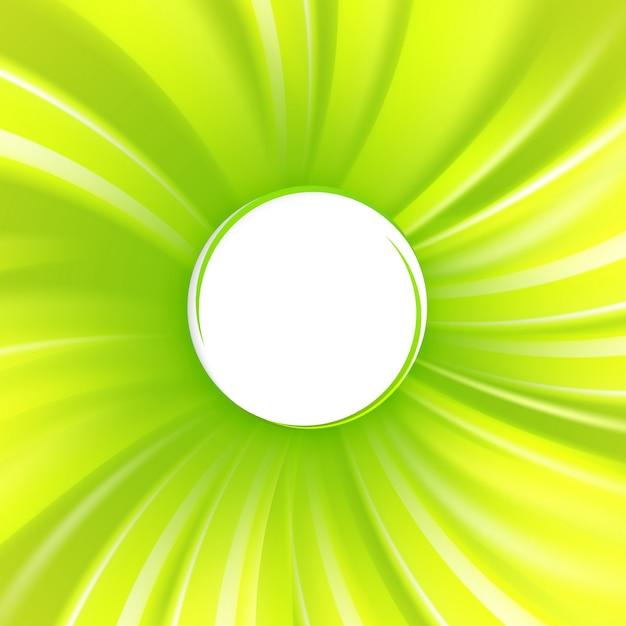 Streszczenie Zielona Okładka Darmowych Wektorów