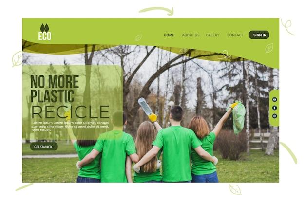 Strona Docelowa środowiska środowiska Darmowych Wektorów