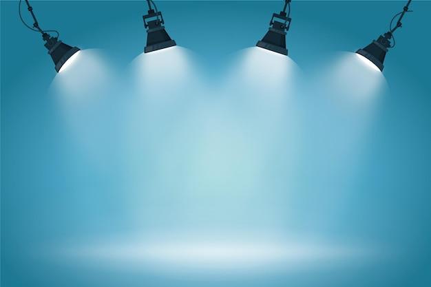 Styl Tła świateł Punktowych Premium Wektorów