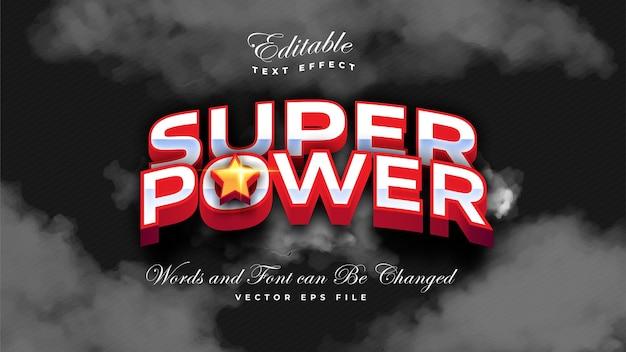 Super Mocny Pogrubiony Efekt Tekstowy Darmowych Wektorów