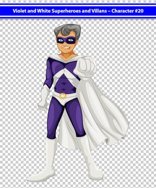 Superbohater Darmowych Wektorów