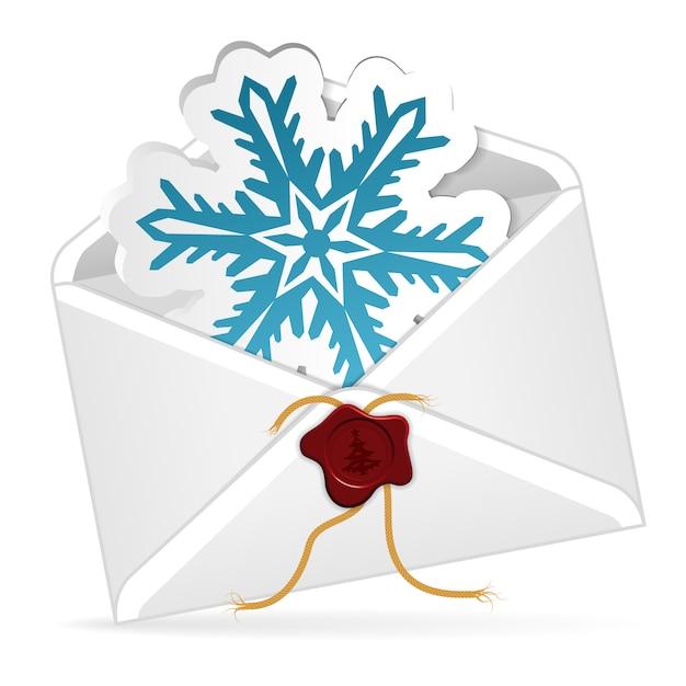Świąteczny E-mail Premium Wektorów