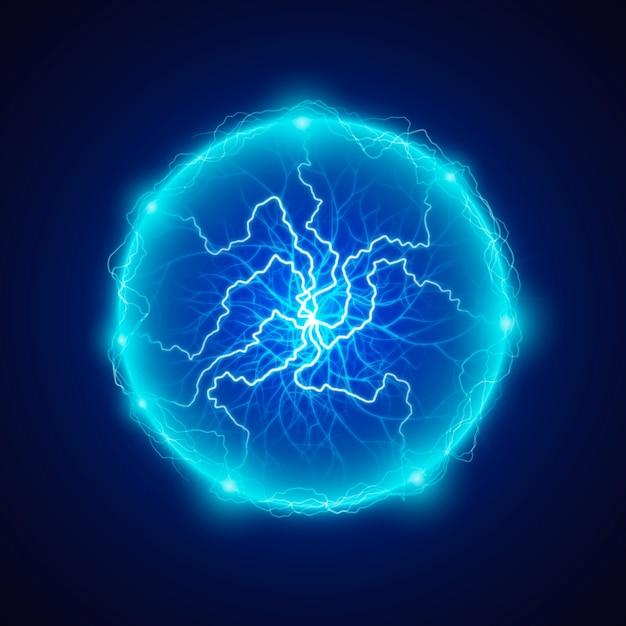 Świąteczny Efekt świetlny Kuli Elektrycznej Darmowych Wektorów