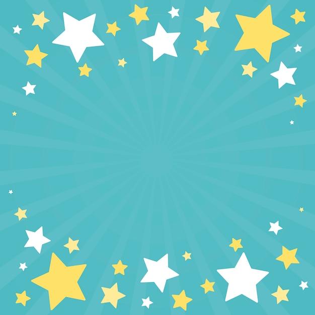 Świąteczny gwiazdy tła projekta wektor Darmowych Wektorów