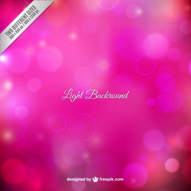 Światło w tle różowej tonacji Darmowych Wektorów