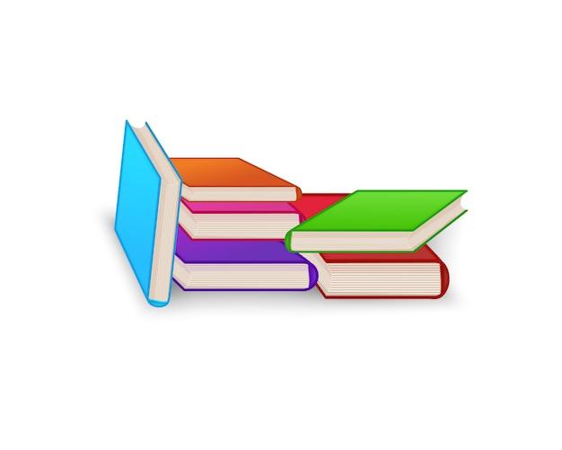 Światowy dzień książki. sterta kolorowe książki odizolowywać. ilustracja wektorowa edukacji. Premium Wektorów