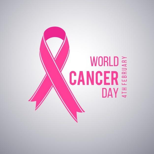 światowy Dzień Walki Z Rakiem 4 Lutego Plakat Wektor