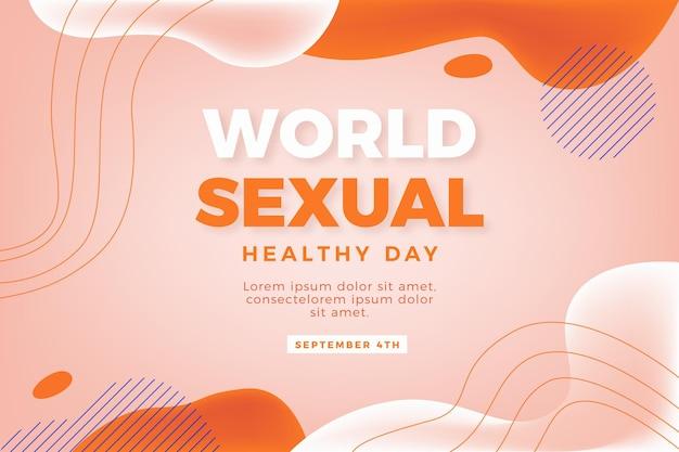 Światowy Dzień Zdrowia Seksualnego Darmowych Wektorów