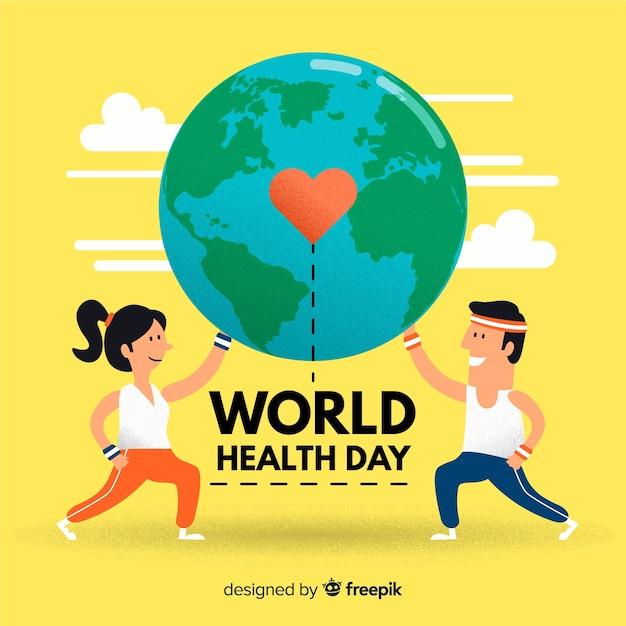 Światowy dzień zdrowia Darmowych Wektorów