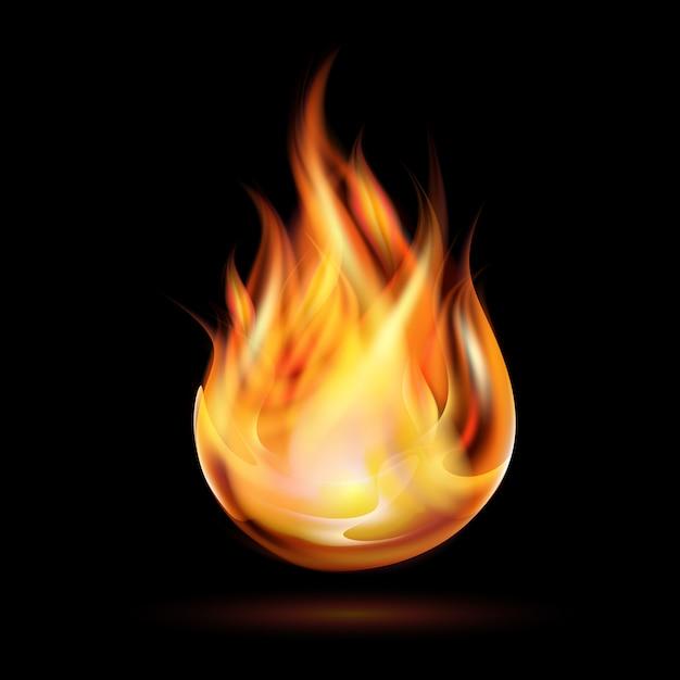 Symbol Ognia Premium Wektorów