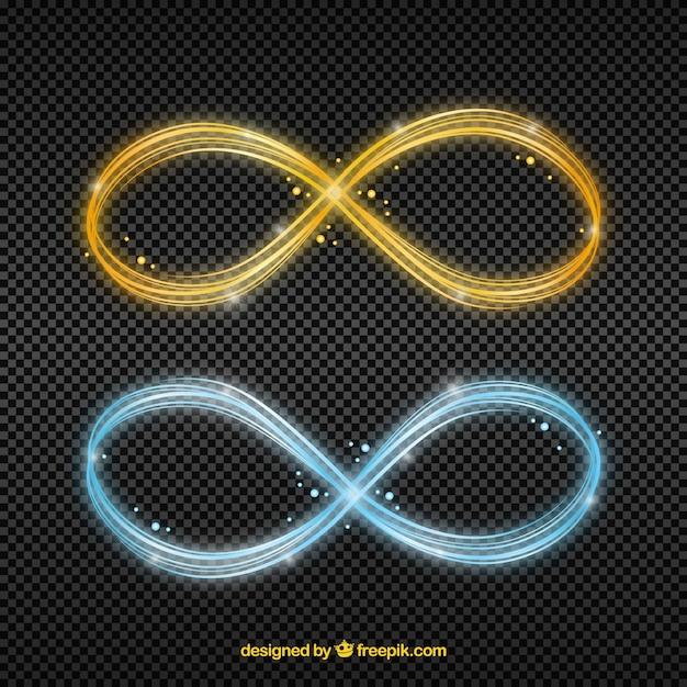 Symbol Pochodni Obiektywu Nieskończoności Darmowych Wektorów