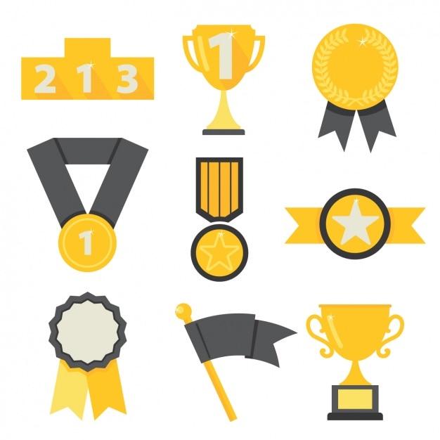 Symbole Winner Darmowych Wektorów