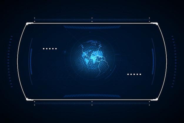 System nawigacyjny Premium Wektorów