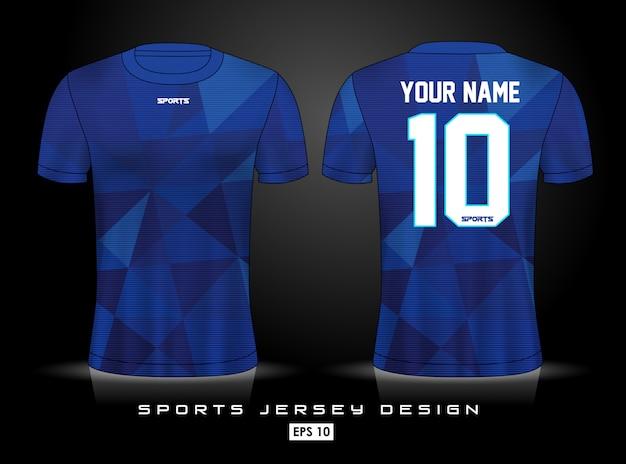 Szablon koszulki sportowej Premium Wektorów