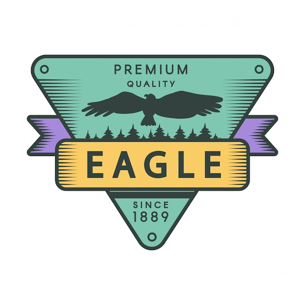 Szablon logo kolor park rekreacyjny Premium Wektorów